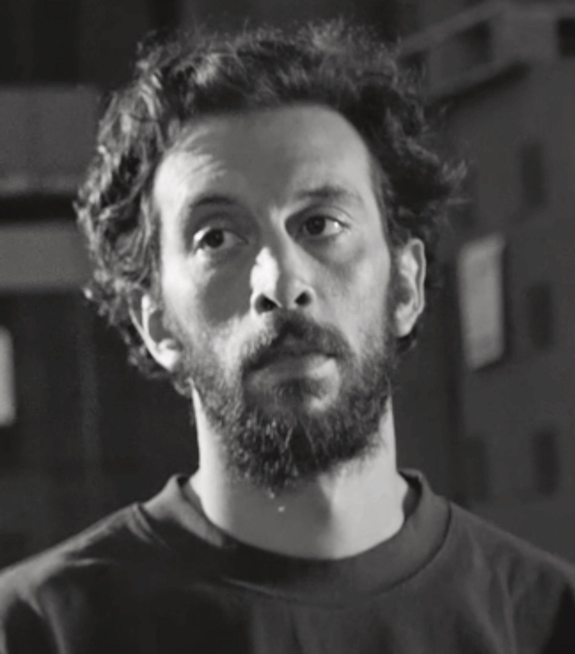 Main actor of feature film Exhibit #8